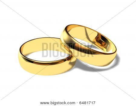 Wedding 3d Rings