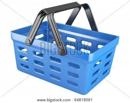 3D Plastic Shopping Basket