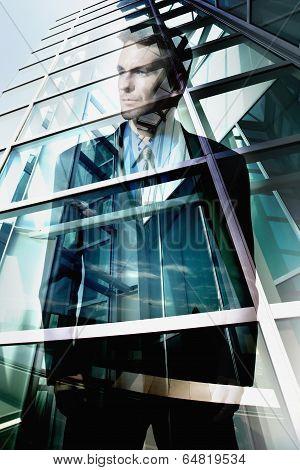 Corporate businessman