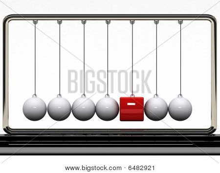Balancing Balls And Red Box