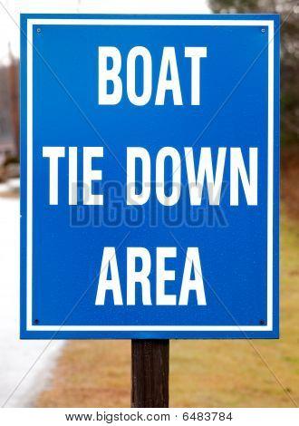 Public Boat landing Sign