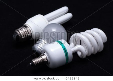 Small and fluorescent economical lamp