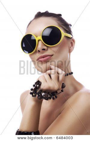 40Yellow Sunglasses