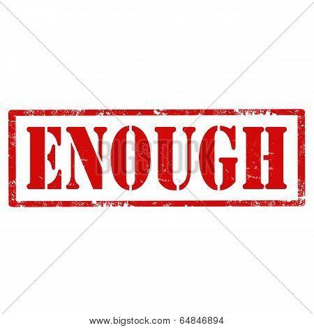 Enough-stamp