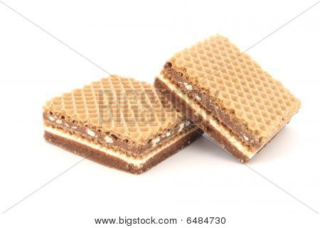 Filled Wafer With Chocolate