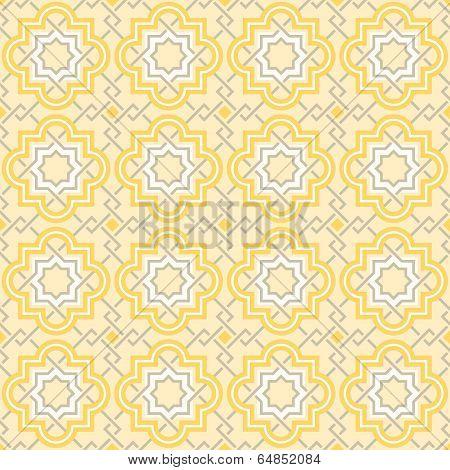 Tangled lattice pattern