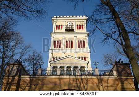 Gomel, Fragment Rumyantsev-paskevich Palace. Tower