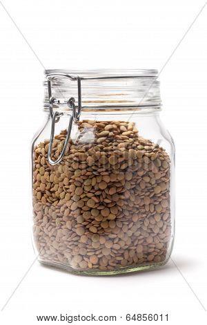 Lentil In A Jar