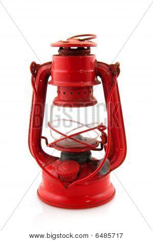 Old Vintage Oil Lamp