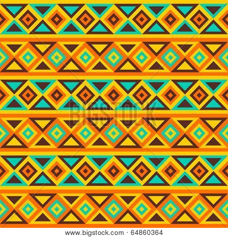Colorful simple seamless vector pattern.
