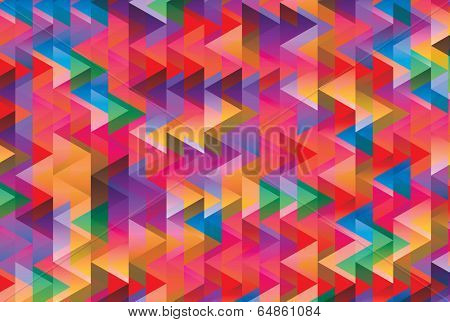 abstract triangle geometric patterns contains gradients and transparent multiply