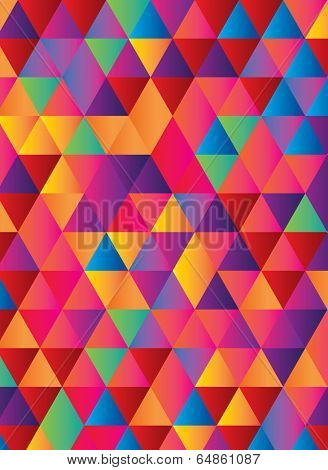 gradient background in geometric repeat pattern