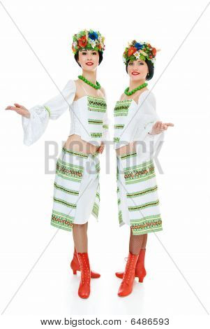 Two Ukrainian Dancers