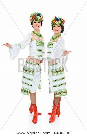 Two Ukrainian Dancers