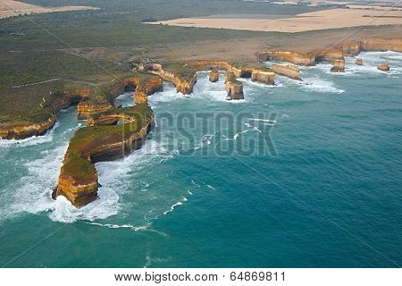 Coastal landscape of Port Campbell National Park