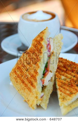 Sandwich a la plancha