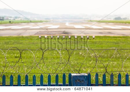 Demarcation of an Airport Runway Area