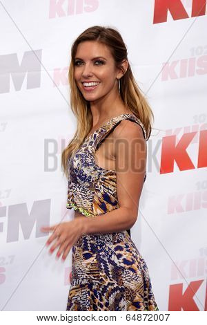 LOS ANGELES - MAY 10:  Audrina Patridge at the 2014 Wango Tango at Stub Hub Center on May 10, 2014 in Carson, CA