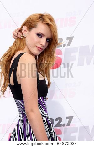 LOS ANGELES - MAY 10:  Bella Thorne at the 2014 Wango Tango at Stub Hub Center on May 10, 2014 in Carson, CA