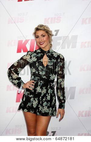 LOS ANGELES - MAY 10:  Emma Slater at the 2014 Wango Tango at Stub Hub Center on May 10, 2014 in Carson, CA