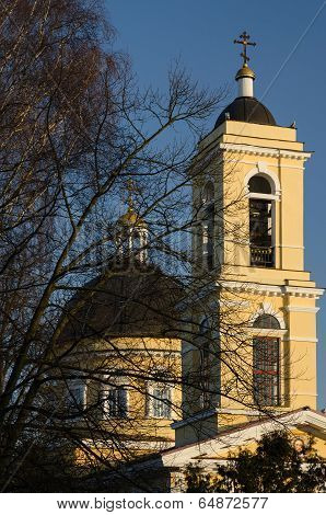 Gomel. Cathedral Of Peter And Paul, A Fragment
