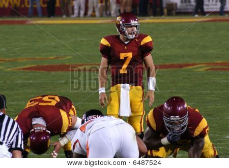 USC's Quarterback Matt Barkley