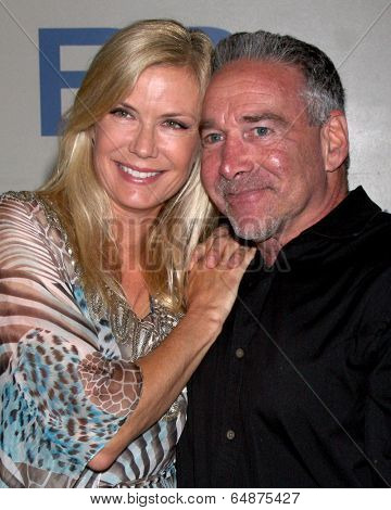 LOS ANGELES - MAY 6:  Katherine Kelly Lang, Michael Fairman at the Bold & Beautiful Celebrates Emmy Nominations at CBS Television City on May 6, 2014 in Los Angeles, CA