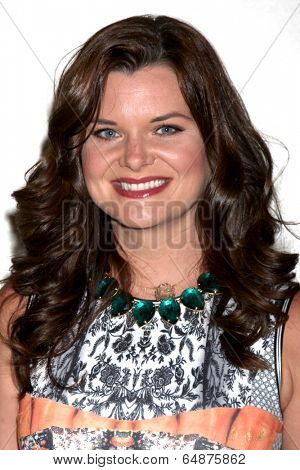 LOS ANGELES - MAY 6:  Heather Tom at the Bold & Beautiful Celebrates Emmy Nominations at CBS Television City on May 6, 2014 in Los Angeles, CA