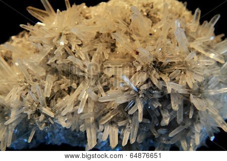 White Natural Crystals