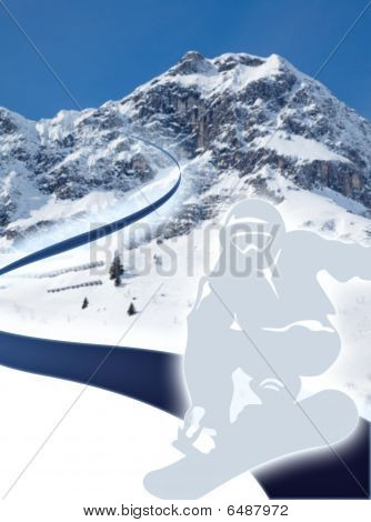 Snowboarding Graphic