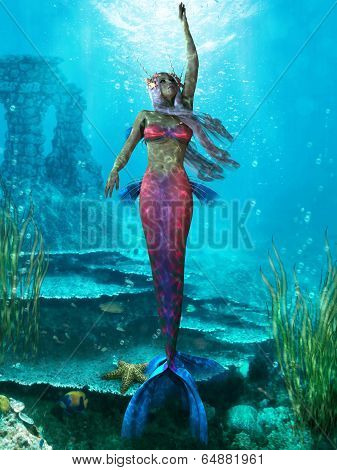 Ocean Mermaid
