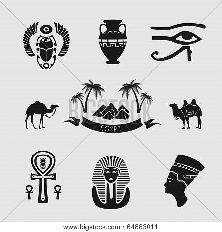 Set of symbols Egypt
