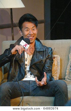 HOLLYWOOD, MAY 6: James Kyson Lee arrives for the post play interview with