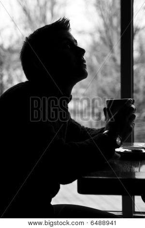 Guy With Coffee