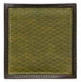 pic of khakis  - khaki wicker frame isolated - JPG