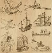 picture of historical ship  - Ships and Boats around the World  - JPG