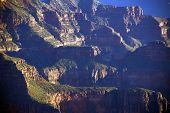 foto of zoroaster  - Brahma Temple and Zoroaster Temple North Rim Grand Canyon National Park Arizona - JPG