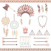 picture of dream-catcher  - Arrows - JPG
