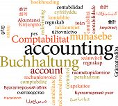 picture of nouns  - Illustration of the word accounting in word clouds isolated on white background - JPG