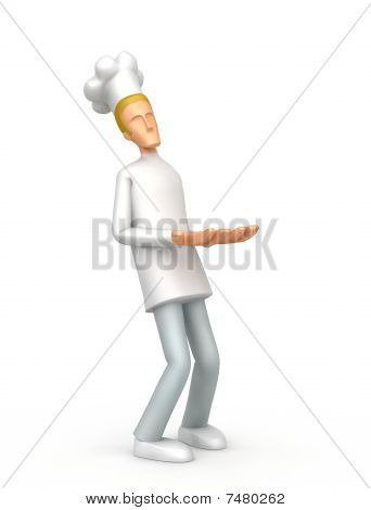 Chef Holds Great Weight