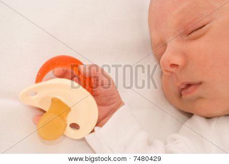 Beautiful Baby Sleeps