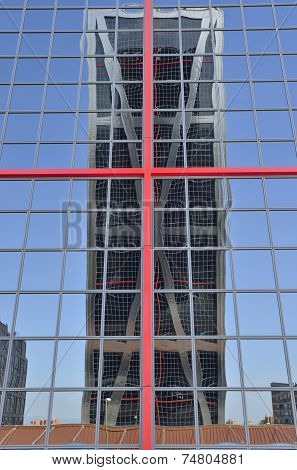 One Kio  Tower Reflected