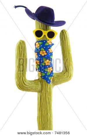 Funny Wild West Cactus