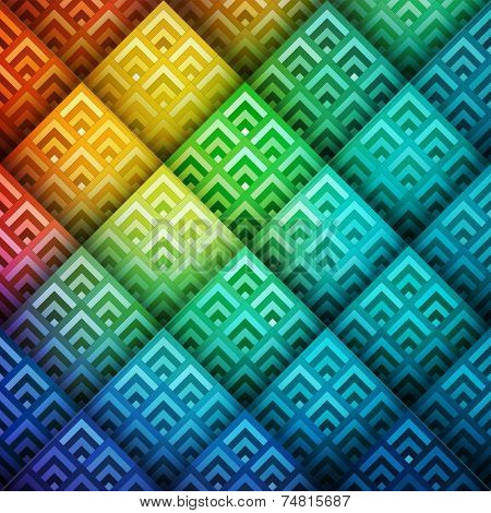 Colorful shiny geometric background, vector eps10 illustration