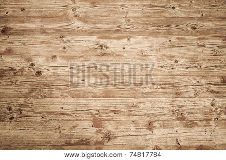 Background Texture Of Natural Brown Wooden Wall