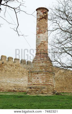 Minaret In Old Turkish Fortress Akkerman ,belgorod-dnestrovsky,ukraine