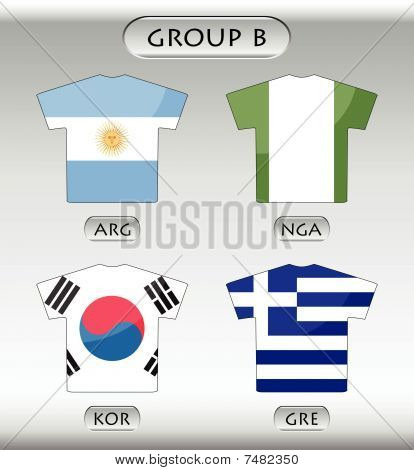 countries icons, group B