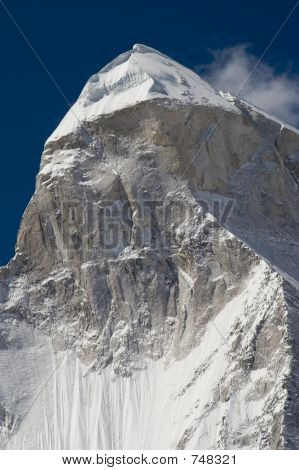 Shivling mountain, the Himalayas