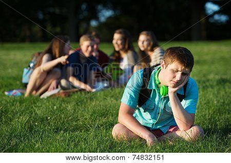 Group Bullying Teen
