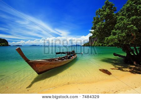 Koh Hong Nationalpark in thailand
